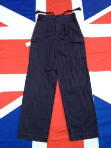 EX BRITISH ROYAL NAVY MILITARY TROUSERS